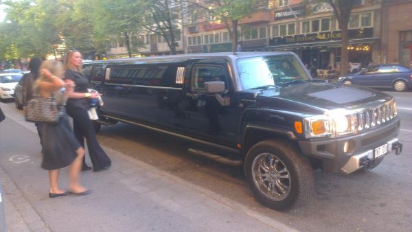 WHERE'S MY LIMO?!