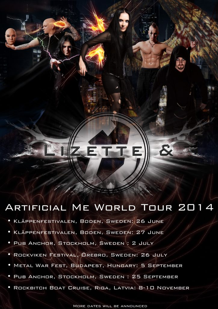 Artificial me world tour 2014